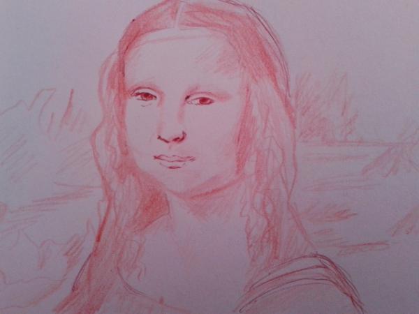 Mona Lisa por perlefr